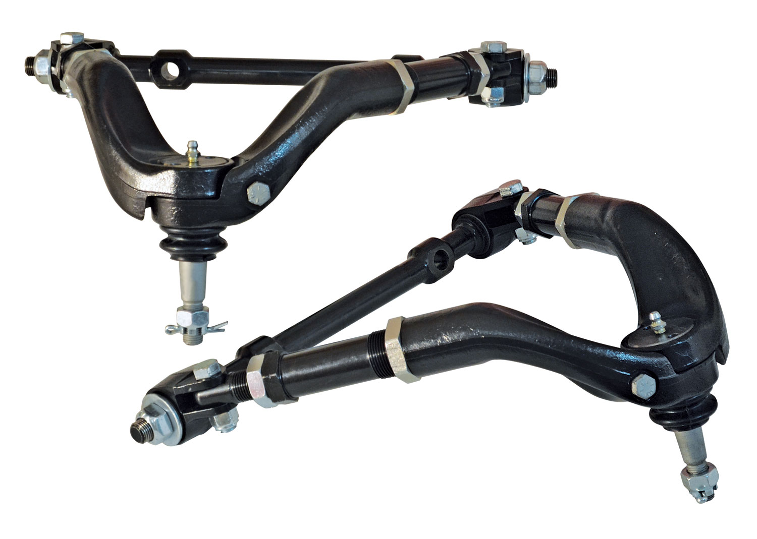 "SPC Performance 97140 Adjustable Control Arm Pair W/Extended Studs For ""G"" Body"