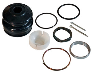 Ecklers Premier Quality Products 25126809 Corvette Coolant Expansion Tank Outlet Hose Clamp