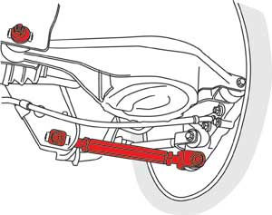 Specialty Products 72262 Camber Arm Pr 370Z
